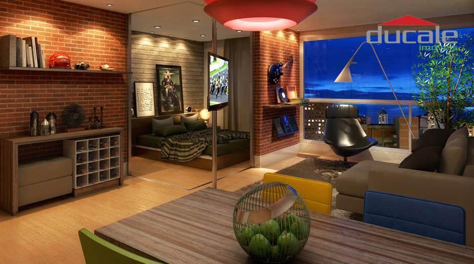 Studio  Jardim Studio UP à venda, Jardim da Penha, Vitória.