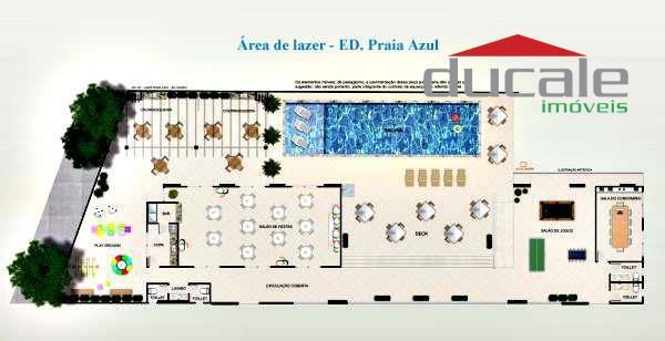 Apartamento  residencial à venda, Praia de Itapoã, Vila Velha. - AP0053