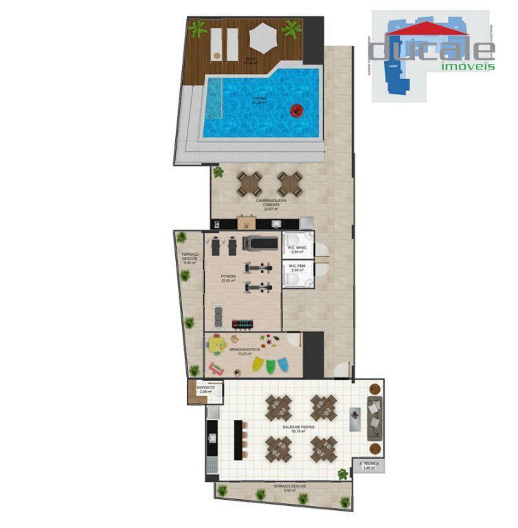 Apartamento 3 quartos à venda Residencial José Daher Carneiro Jardim da Penha Vitoria ES, Jardim da Penha, Vitória. - AP0046