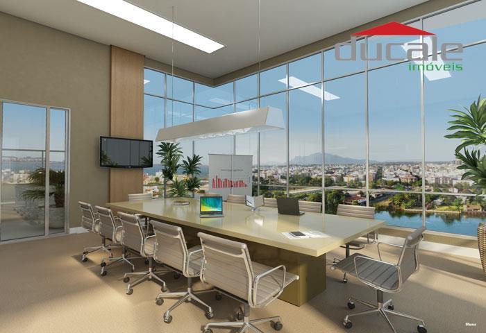 Impacto Empresarial  Sala  comercial à venda, Santa Luíza, Vitória. - SA0001