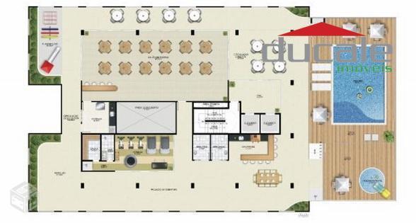 Santa Fé Residence  Apartamento 2 quartos à venda, Praia de Itaparica, Vila Velha. - AP0057