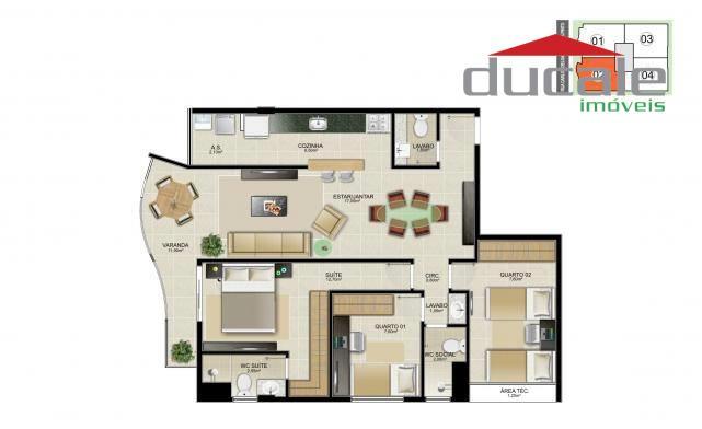 Edifício San Paolo  Apartamento  3 quartos residencial à venda, Jardim Camburi, Vitória. - AP0054