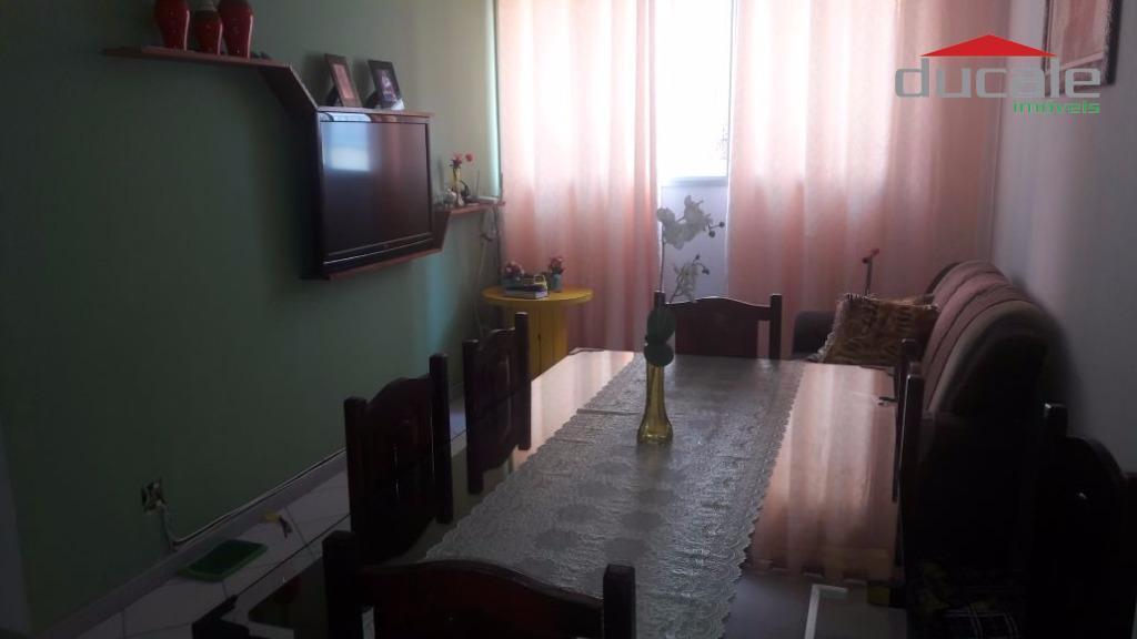 Apartamento residencial à venda, Jardim Camburi, Vitória. - AP0796