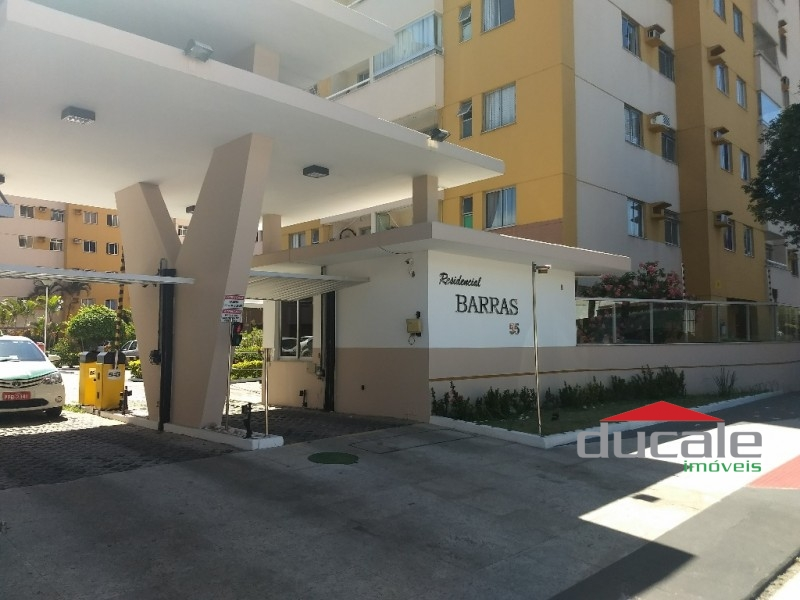 Resid. BARRAS - 2 qts, andar alto, sol da manhã e ótima localização em Jardim Camburi - AP1311