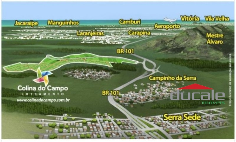 Lotes Colina do Campo 250 m2 cada - TE1427