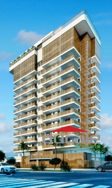 Edifício Adress. Apartamento com 2 quartos, suíte, varanda na Praia do Canto  - AP1518