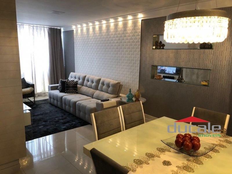 Lindo Apartamento andar alto com lazer em Santa Lúcia, Vitória - AP1526
