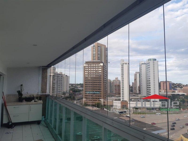 Apartamento montado com varanda na Enseada do Suá, Vitória - AP1527