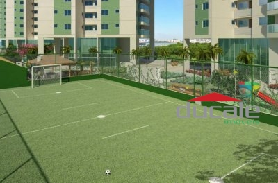 Residencial Jardins: apartamento lazer completo em Jardim Camburi