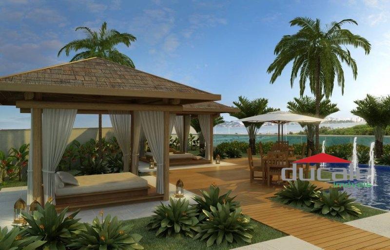 Residencial Jardins lazer completo em andar alto, Jardim Camburi - AP1571