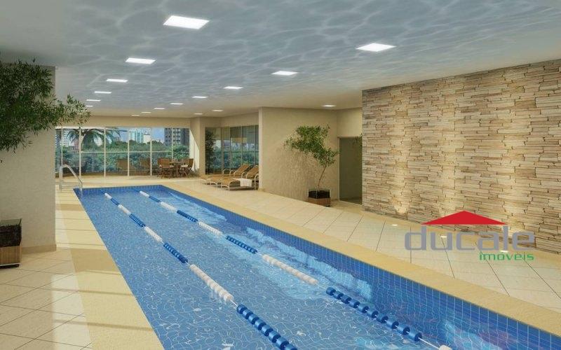 Apartamento alto e lazer completo no Residencial Jardins em Jardim Camburi - AP1572