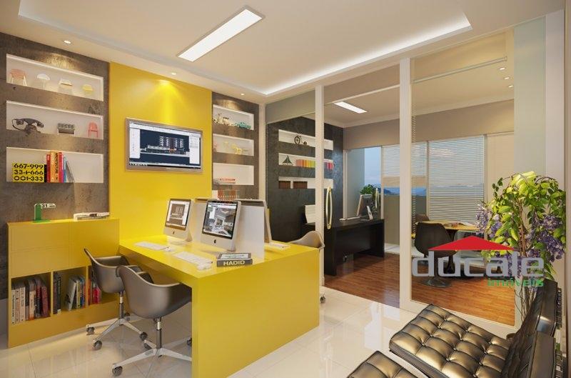 Sala comercial no Premium Office, Business Tower, na Mata da Praia - SA1592