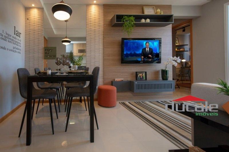Apartamento em andar alto no Vivace em Jardim Camburi - AP1605