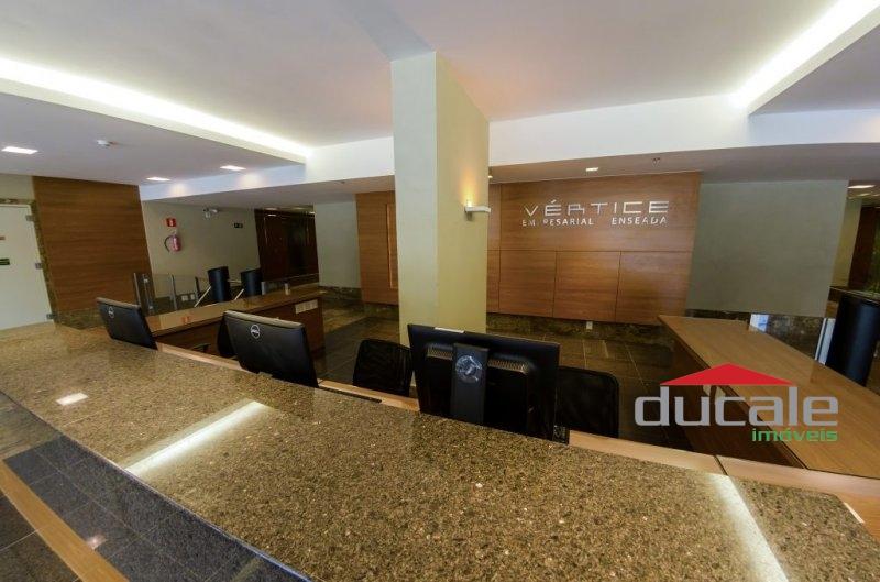 Sala Comercial no Vértice Empresarial na Enseada do Sua - SA1635