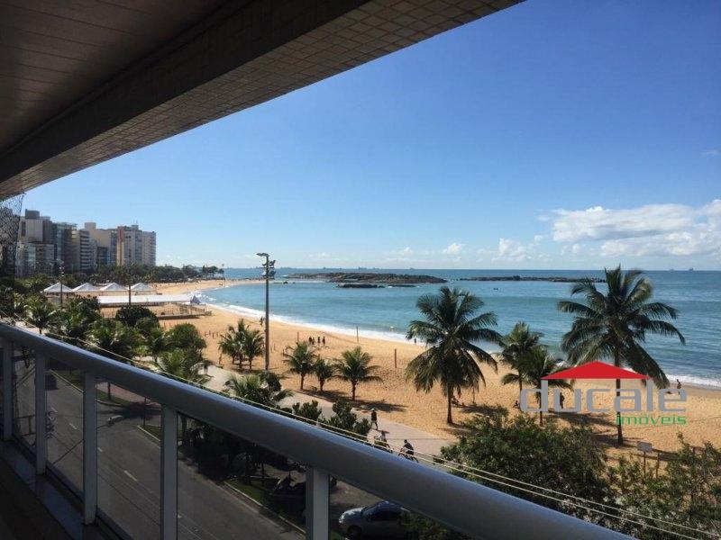 Apartamento com vista ao mar na Praia da Costa - AP1682