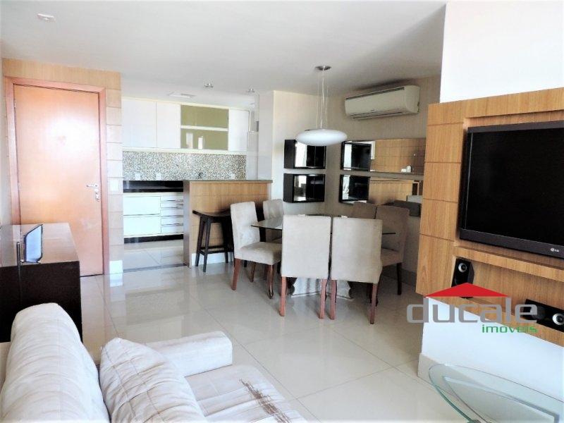 Apartamento lindamente montado; lazer completo. Em Jardim Camburi - AP1715