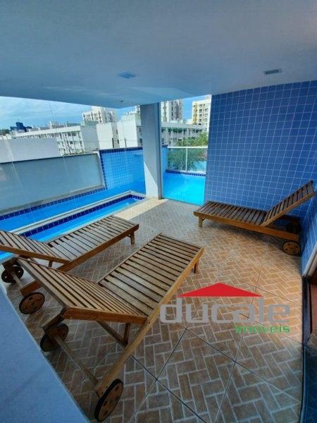 Apartamento andar alto sol da manhã em Jardim Camburi - AP1736