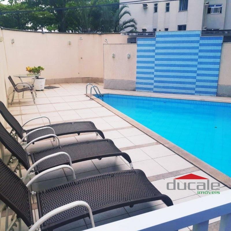 Apartamento sol da manhã com varanda em Jardim Camburi - AP1749