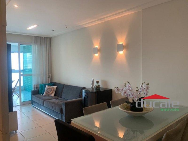 Apartamento com varanda e lazer completo em Jardim Camburi - AP1752