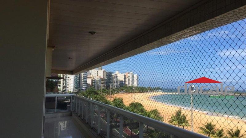 Aluga Apartamento com Vista para o Mar na Praia da Costa - AP1820