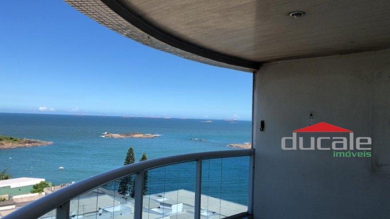 Aluga Enseada da Sereia Apartamento com lazer completo na Praia da Costa - AP1733