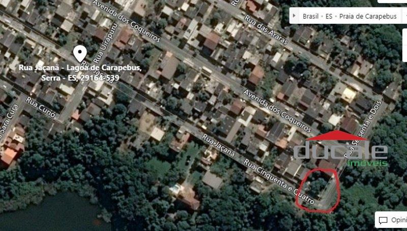 Vende Terreno na Lagoa de Carapebus, Serra - TE1901