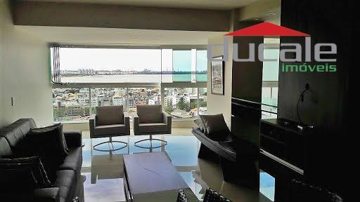 Apartamento residencial à venda, Barro Vermelho, Vitória. - AP0718