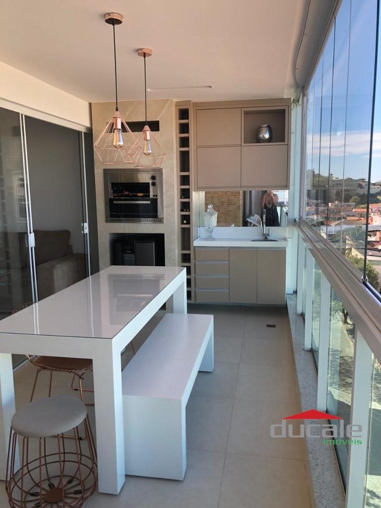 Vende apartamento com varanda gourmet em Jardim Camburi - AP2024