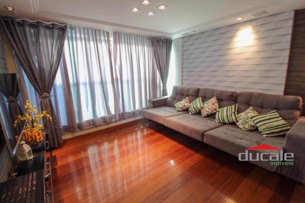 Vende cobertura quadra do mar 180 m² em Jardim Camburi - AP2038