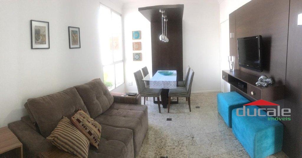 Vende apartamento 2 quartos próximo a praia em Jardim Camburi - AP2097