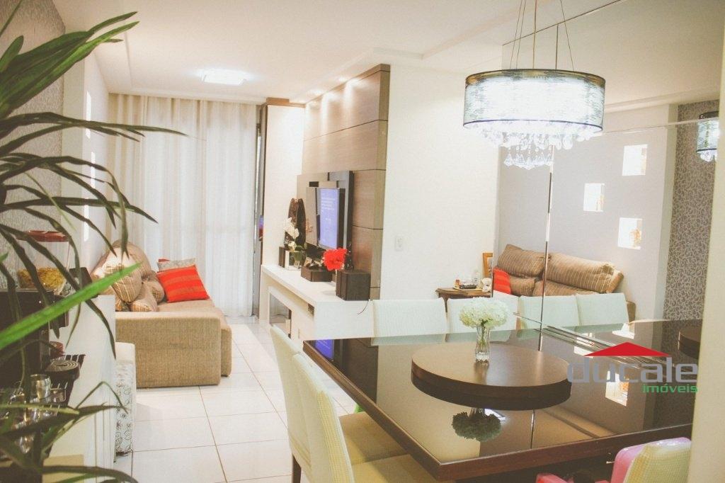Vende apartamento 3 quartos elevador c/ lazer completo em Jardim Camburi - AP2117