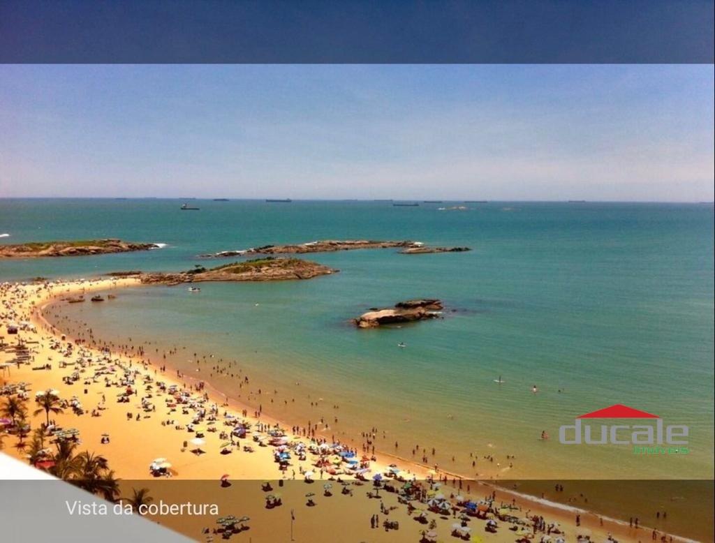 Vende apartamento 2 qts vista para o mar na Praia da Costa - AP2119