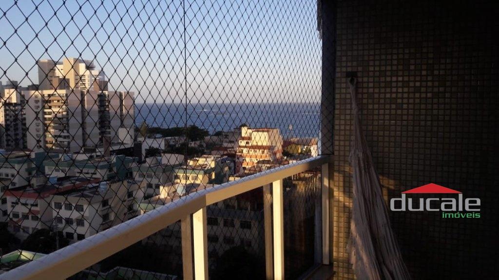 Vende apartamento 3 qts vista para o mar c/ lazer na Praia de Itapuã - AP2154
