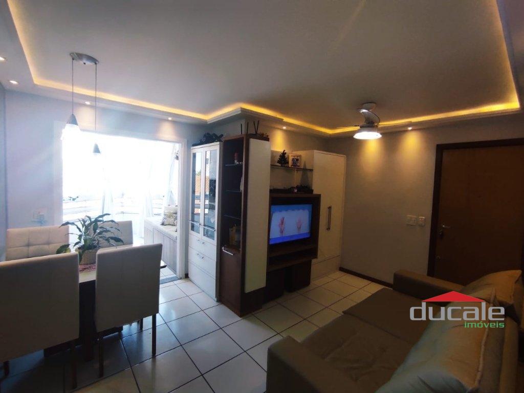 2 quartos com suíte montado com armários Andar Alto Sol da Manhã - AP2194