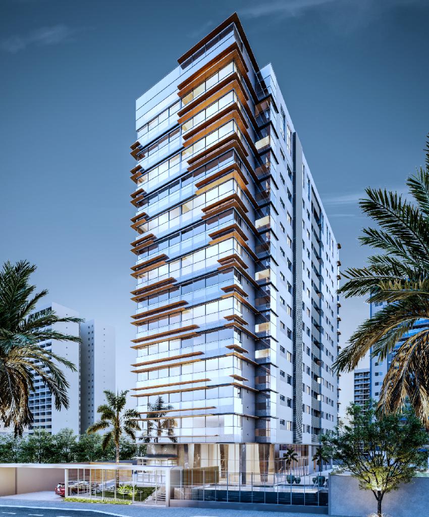 Edifício Rio Tocantins na Mata da Praia, Vitória. Vende apartamento 4 qts andar alto - AP2203