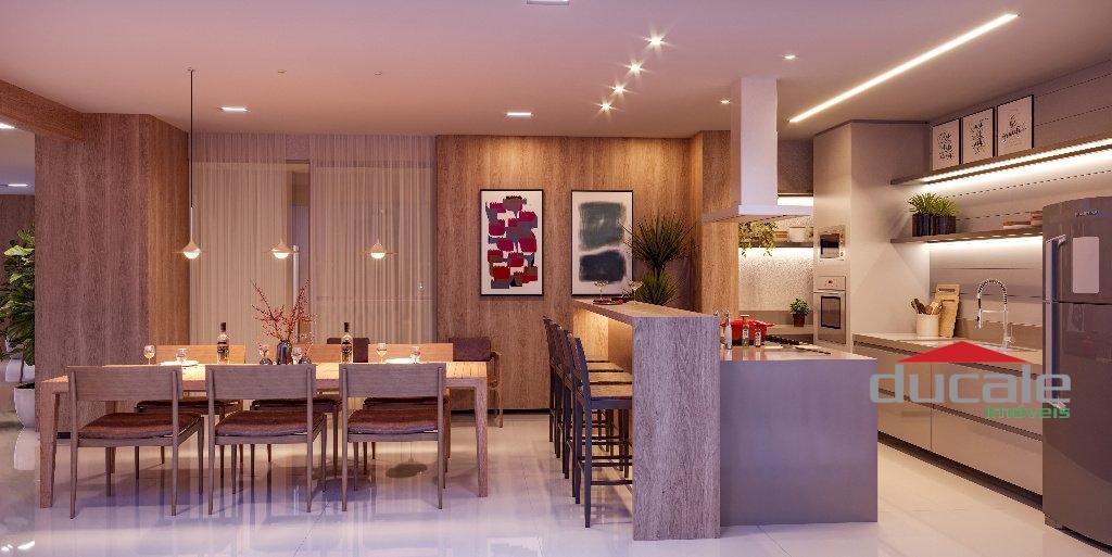 Loft para venda 2 quarto(s) sendo 2 suites na praia do canto vitória - LO2454