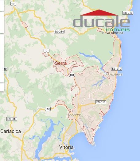 Área  de 45.750 m2 na Serra ES - AR0006