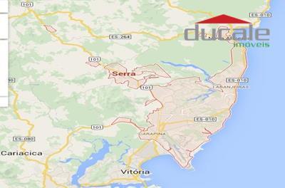 Área  de 45.750 m2 na Serra ES