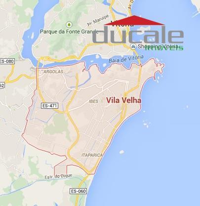 Terreno  comercial à venda com 675m2, Praia de Itaparica, Vila Velha ES - TE0004