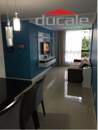 Apartamento residencial à venda, Jardim Camburi, Vitória. - AP0804