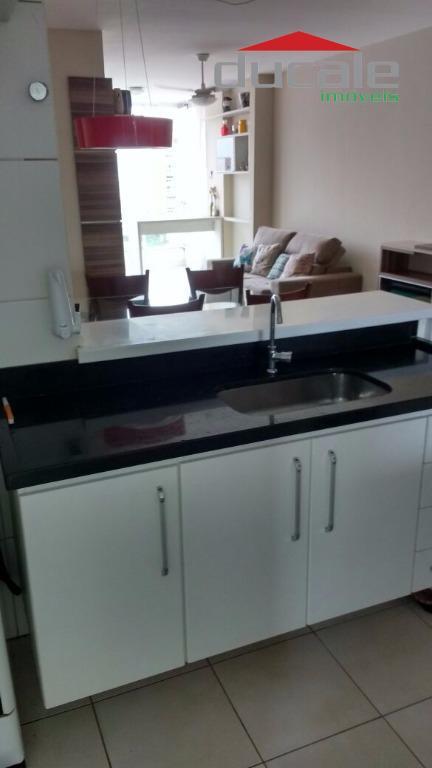 Apartamento residencial à venda, Jardim Camburi, Vitória. - AP0686