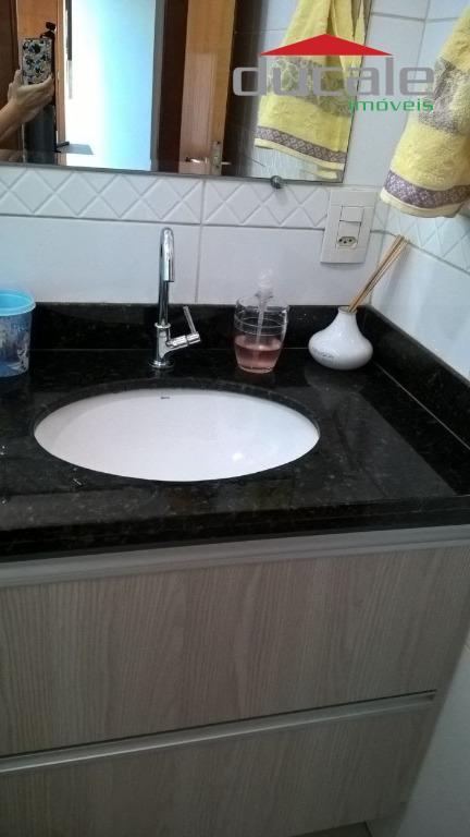 Apartamento residencial à venda, Jardim Camburi, Vitória. - AP0876