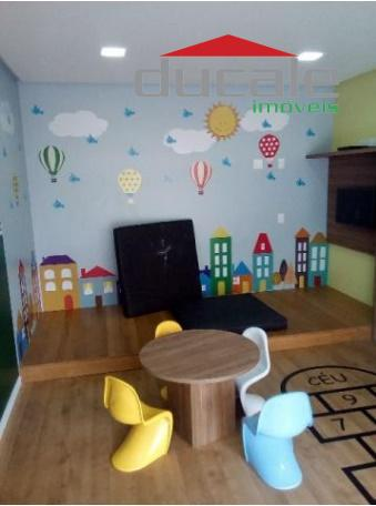 Condomínio Recanto de Camburi Apartamento novo 2 quartos com suite - AP0817