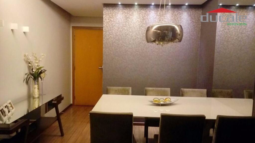 Apartamento residencial à venda, Jardim Camburi, Vitória. - AP0683