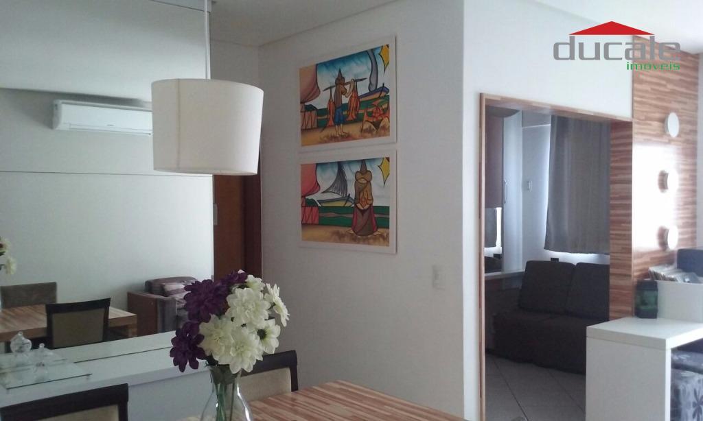 Apartamento residencial à venda, Jardim Camburi, Vitória. - AP0577