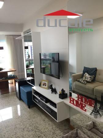 Apartamento residencial à venda, Jardim Camburi, Vitória. - AP0620