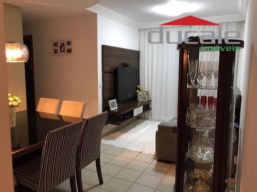 Apartamento residencial à venda, Jardim Camburi, Vitória. - AP0704