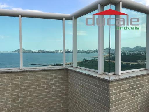 Linda cobertura toda montada e decorada no Residencial Jardins, melhor condomínio de vitoria - CO0042