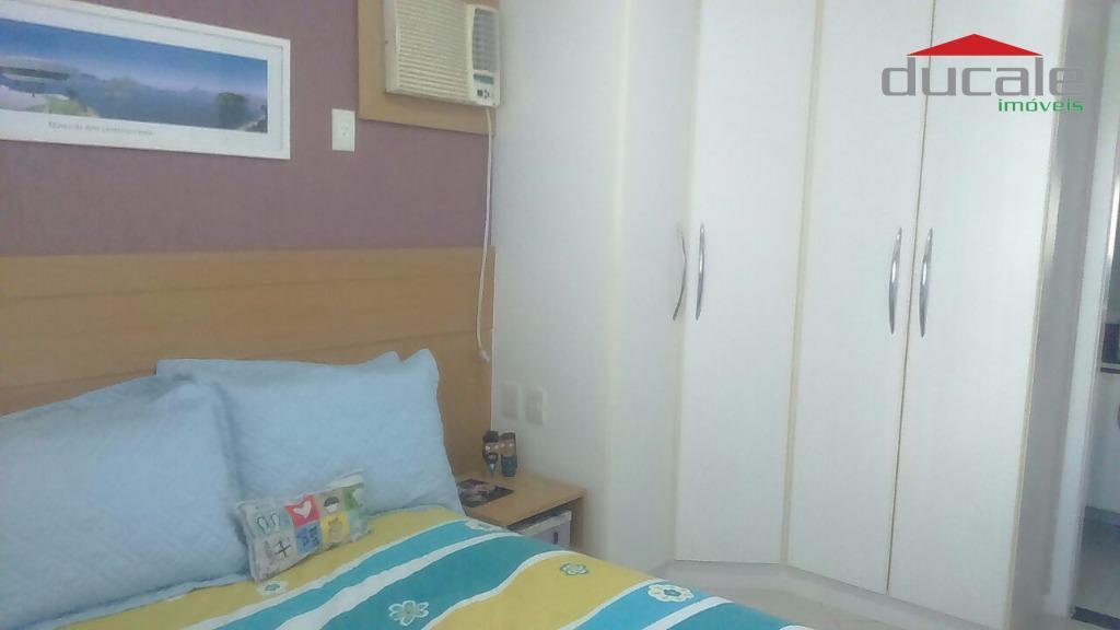 Apartamento residencial à venda, Jardim Camburi, Vitória. - AP0465