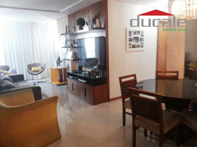 Lindo apartamento com 3 quartos, 2 suítes, todo montado - AP0386
